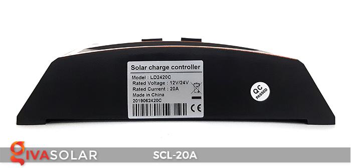 Bộ điều khiển sạc pin mặt trời SCL-20A 5