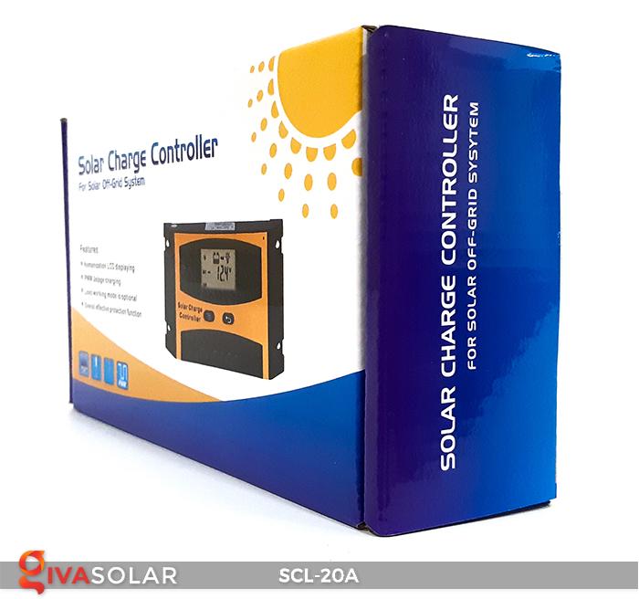 Bộ điều khiển sạc pin mặt trời SCL-20A 8