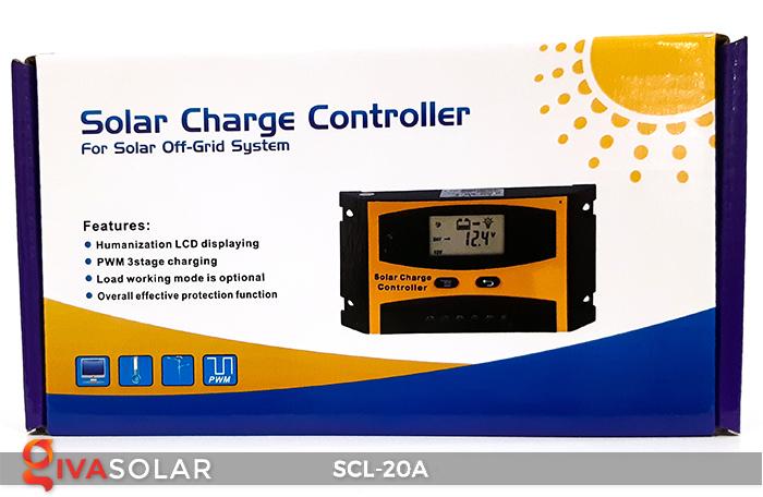Bộ điều khiển sạc pin mặt trời SCL-20A 9