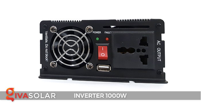 Bộ kích điện Inverter chuẩn sin IPS-1000W 4