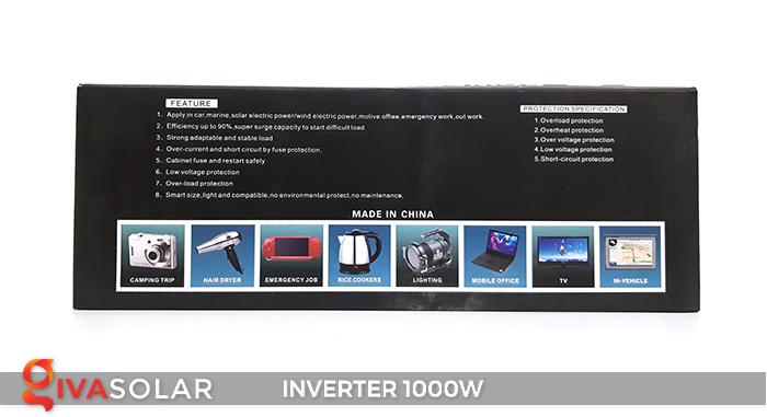Bộ kích điện Inverter chuẩn sin IPS-1000W 9