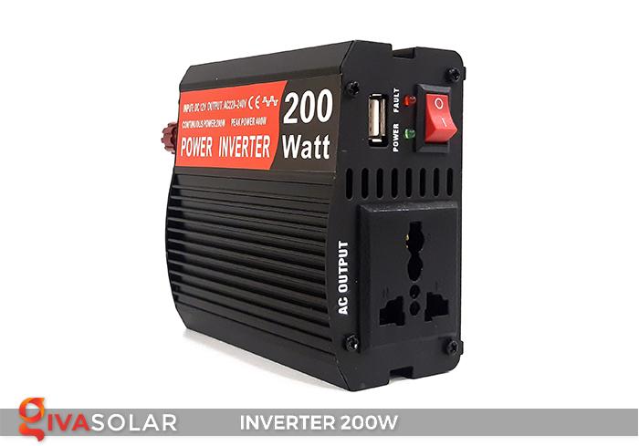 Inverter chuyển đổi nguồn điện IPS-200W 3