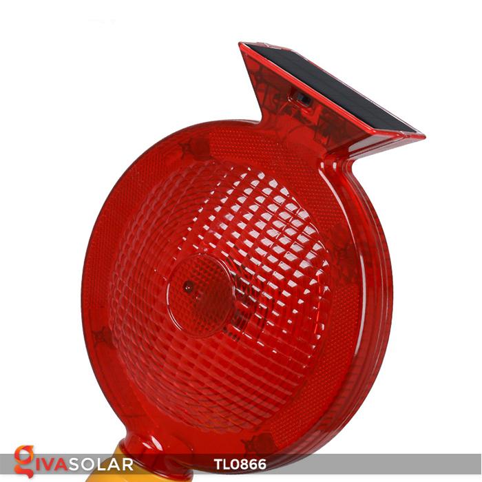 Đèn báo hiệu năng lượng mặt trời TL0866 13