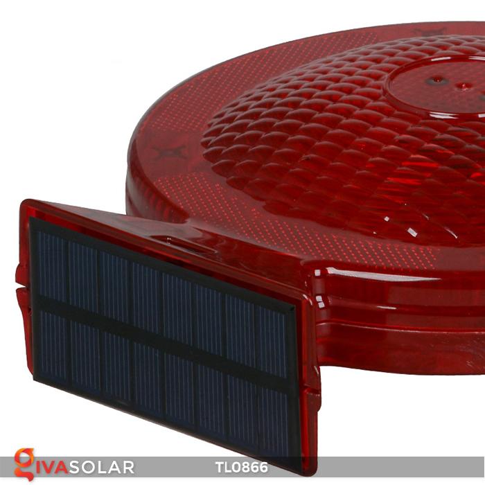 Đèn báo hiệu năng lượng mặt trời TL0866 14