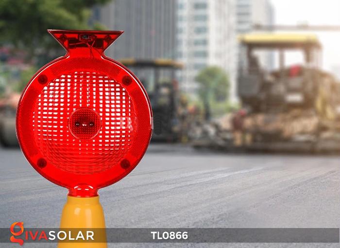 Đèn báo hiệu năng lượng mặt trời TL0866 2