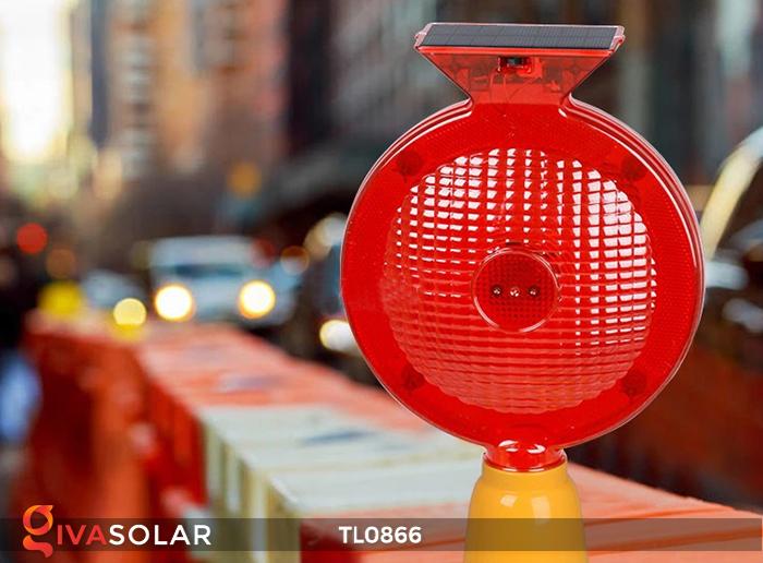 Đèn báo hiệu năng lượng mặt trời TL0866 3