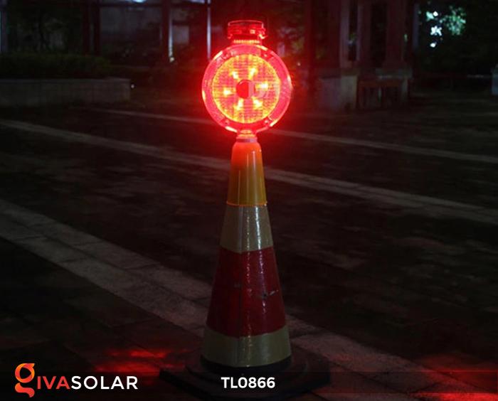 Đèn báo hiệu năng lượng mặt trời TL0866 5