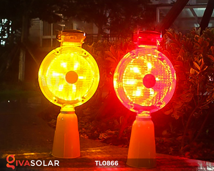Đèn báo hiệu năng lượng mặt trời TL0866 6