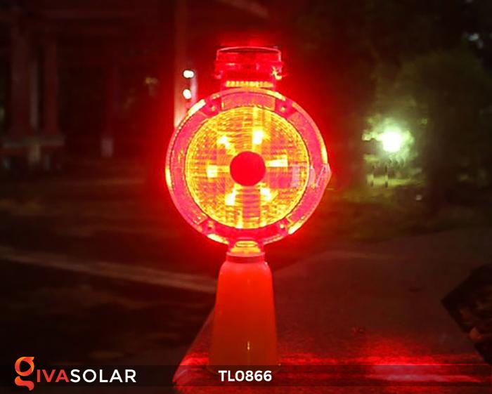 Đèn báo hiệu năng lượng mặt trời TL0866 7