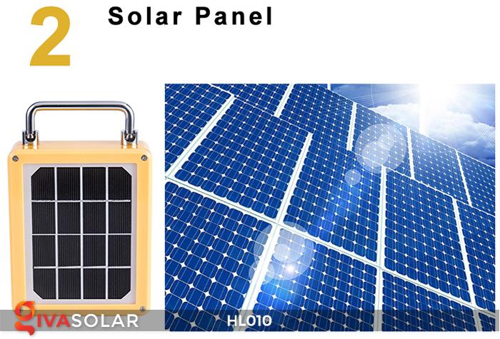 Đèn cầm tay mini năng lượng mặt trời HL010 13