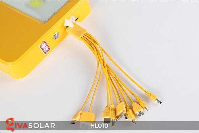 Đèn cầm tay mini năng lượng mặt trời HL010 15