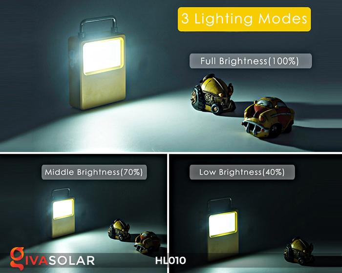 Đèn cầm tay mini năng lượng mặt trời HL010 5