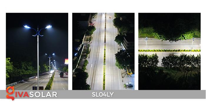 Đèn đường LED chạy năng lượng mặt trời SL04LY 19