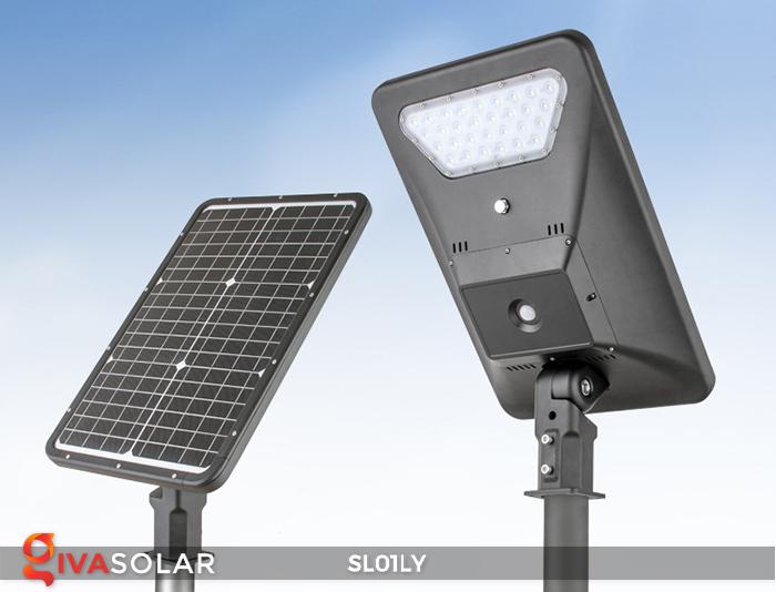 Đèn đường năng lượng mặt trời cao cấp SL01LY 5