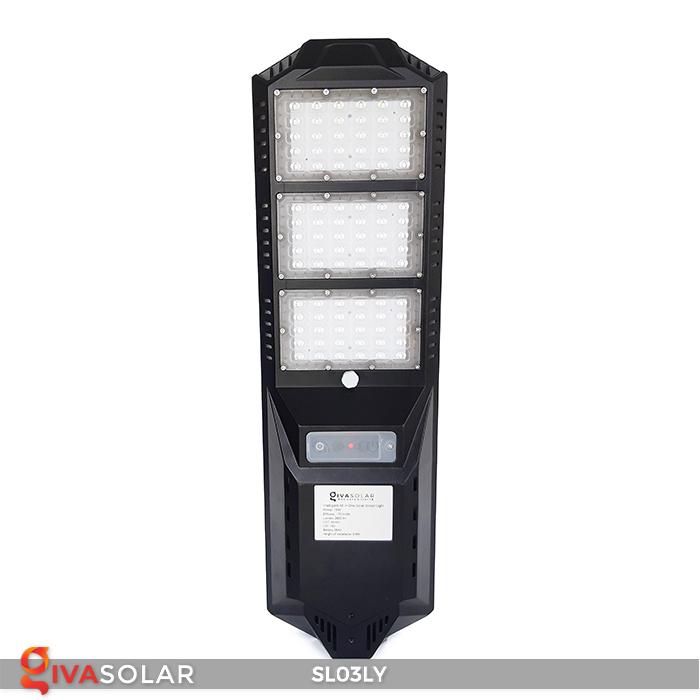 Đèn đường năng lượng mặt trời thông minh SL03LY 1