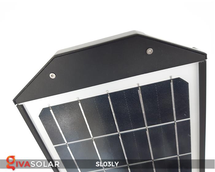 Đèn đường năng lượng mặt trời thông minh SL03LY 12