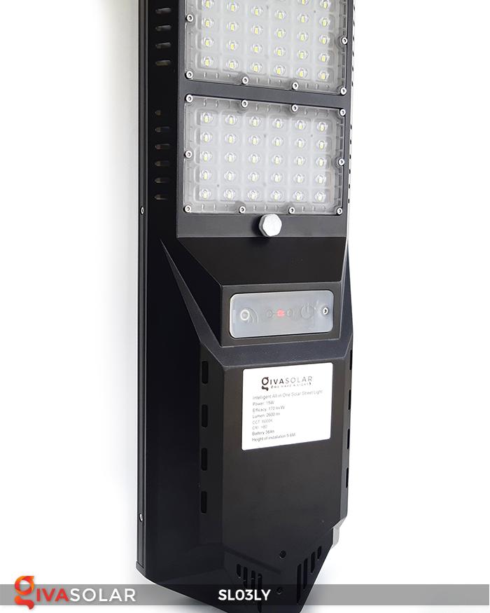 Đèn đường năng lượng mặt trời thông minh SL03LY 4