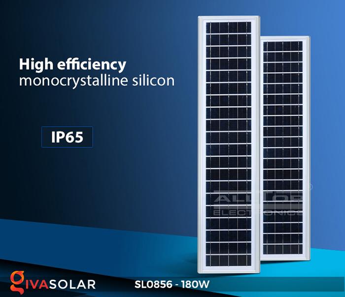 Đèn đường năng lượng mặt trời công suất lớn SL0856 8