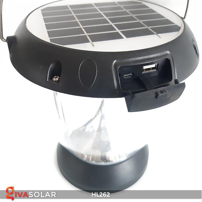 Đèn sạc năng lượng mặt trời xách tay HL262 12