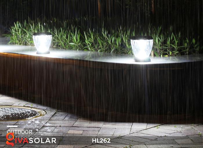 Đèn sạc năng lượng mặt trời xách tay HL262 17
