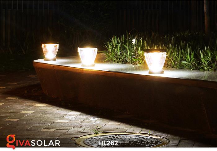 Đèn sạc năng lượng mặt trời xách tay HL262 18
