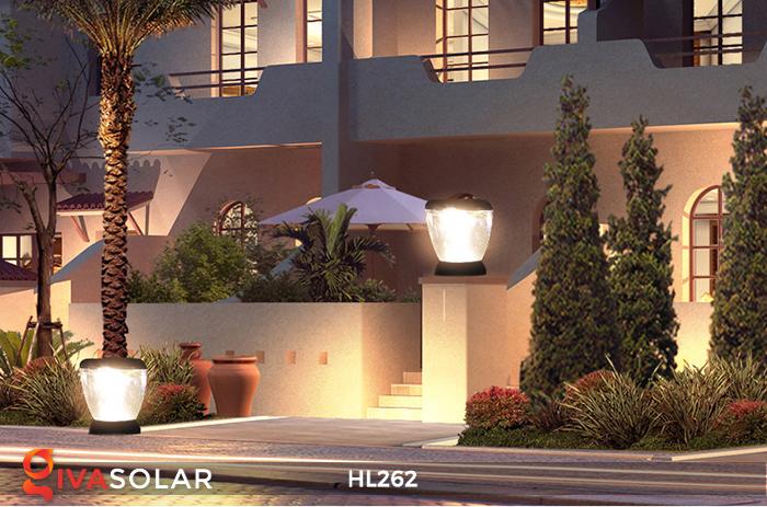 Đèn sạc năng lượng mặt trời xách tay HL262 19
