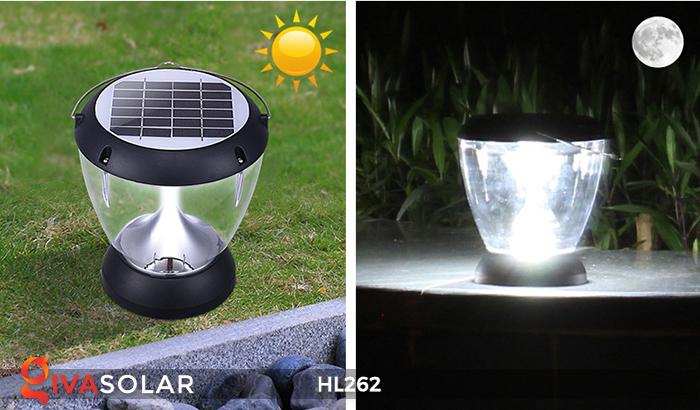 Đèn sạc năng lượng mặt trời xách tay HL262 2