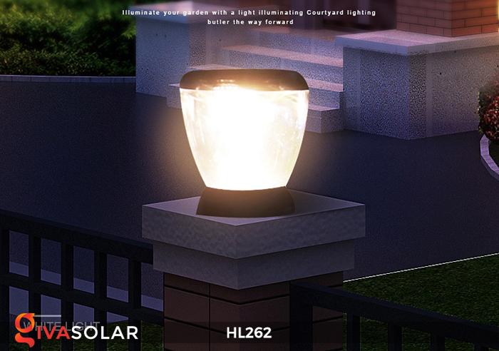 Đèn sạc năng lượng mặt trời xách tay HL262 20
