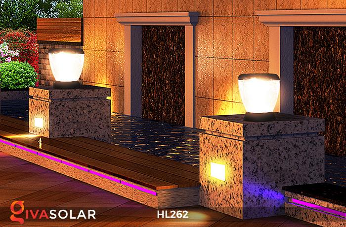 Đèn sạc năng lượng mặt trời xách tay HL262 21