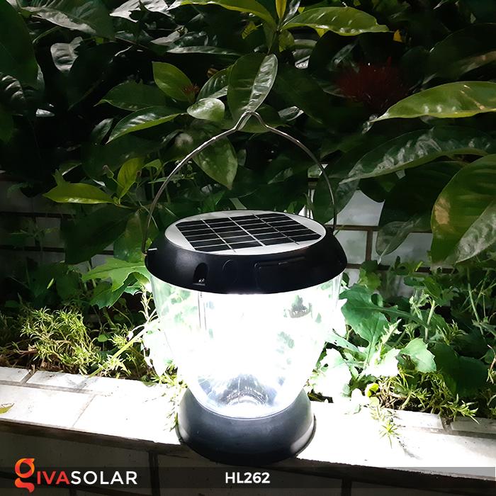 Đèn sạc năng lượng mặt trời xách tay HL262 3