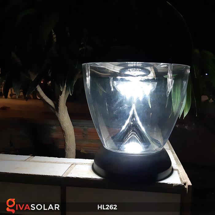 Đèn sạc năng lượng mặt trời xách tay HL262 4