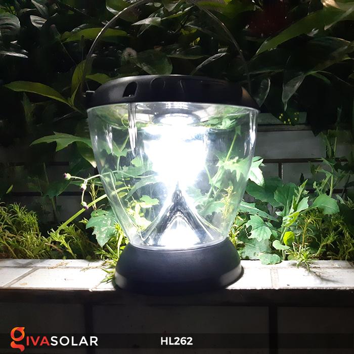 Đèn sạc năng lượng mặt trời xách tay HL262 5