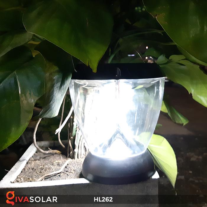 Đèn sạc năng lượng mặt trời xách tay HL262 6
