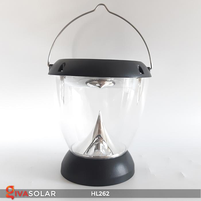 Đèn sạc năng lượng mặt trời xách tay HL262 8