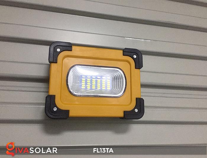 Đèn pha sạc năng lượng mặt trời mini FL13TA 1