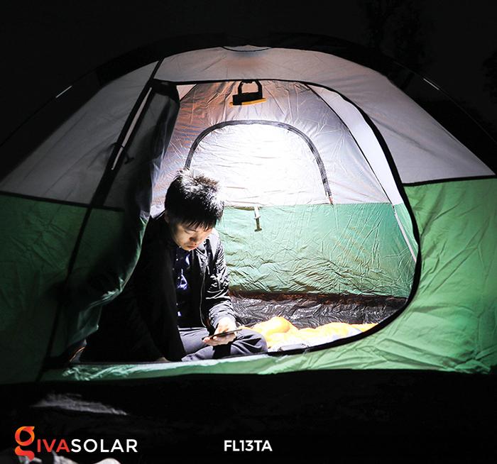 Đèn pha sạc năng lượng mặt trời mini FL13TA 11