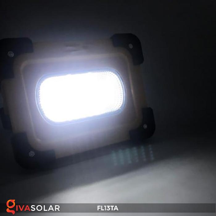 Đèn pha sạc năng lượng mặt trời mini FL13TA 14