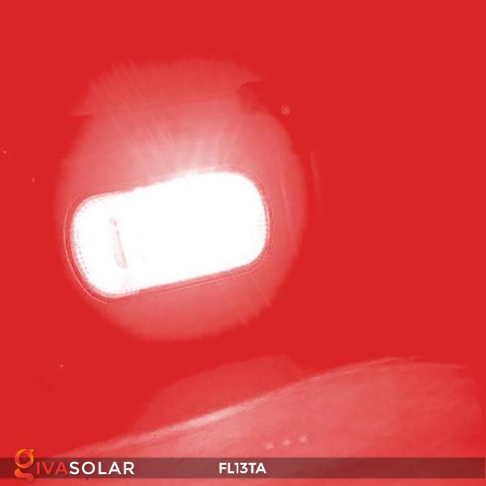Đèn pha sạc năng lượng mặt trời mini FL13TA 16