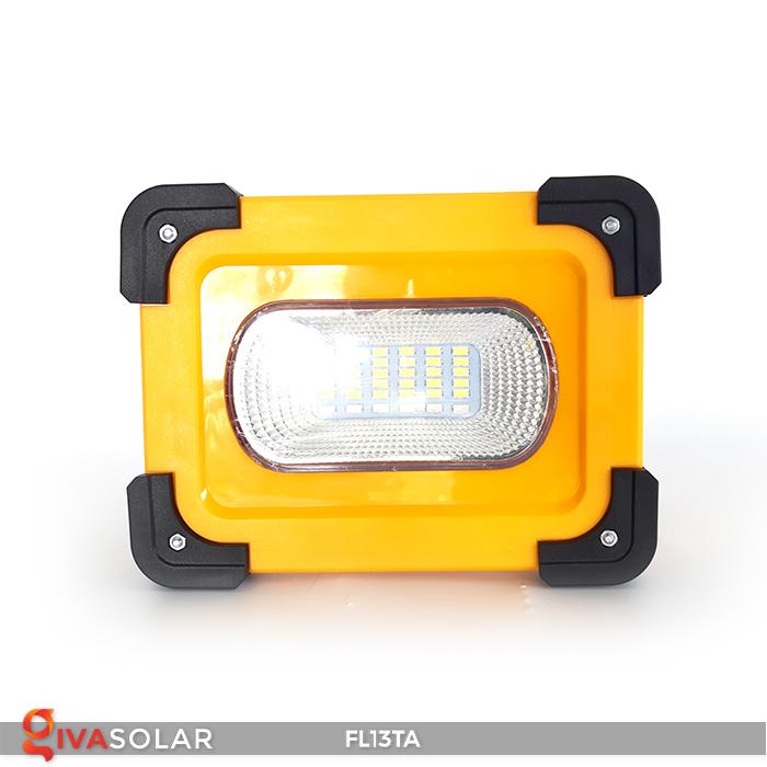 Đèn pha sạc năng lượng mặt trời mini FL13TA 2