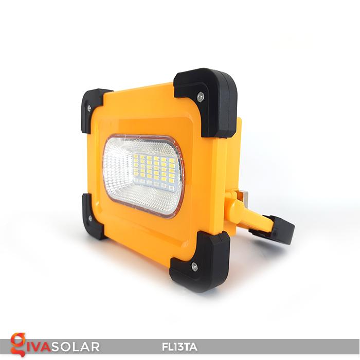 Đèn pha sạc năng lượng mặt trời mini FL13TA 3