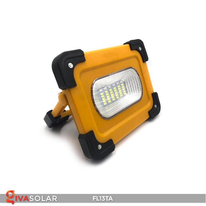 Đèn pha sạc năng lượng mặt trời mini FL13TA 4