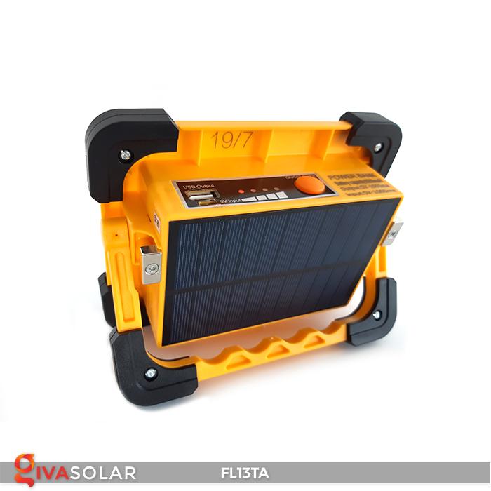 Đèn pha sạc năng lượng mặt trời mini FL13TA 8