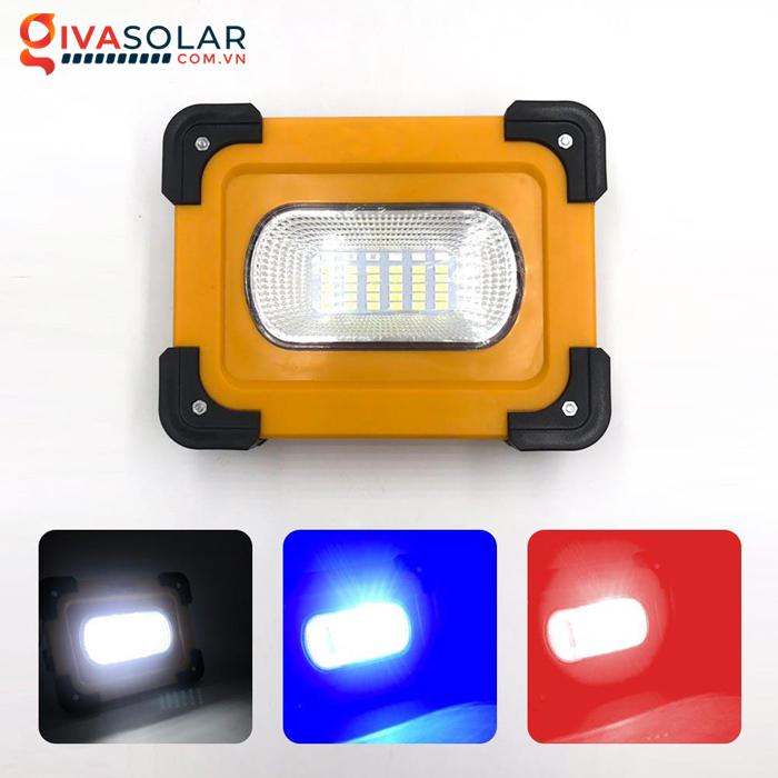 Đèn pha sạc năng lượng mặt trời mini FL13TA