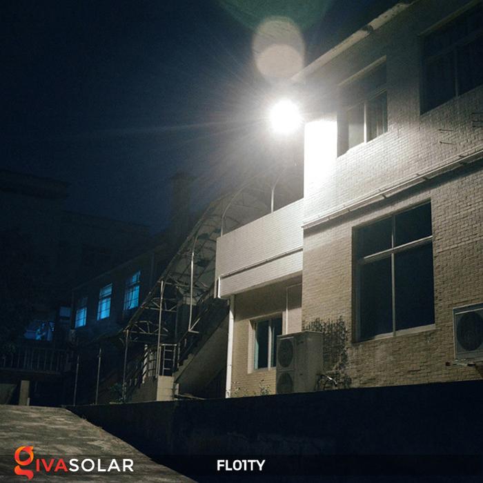 Đèn pha thông minh năng lượng mặt trời FL01TY 10