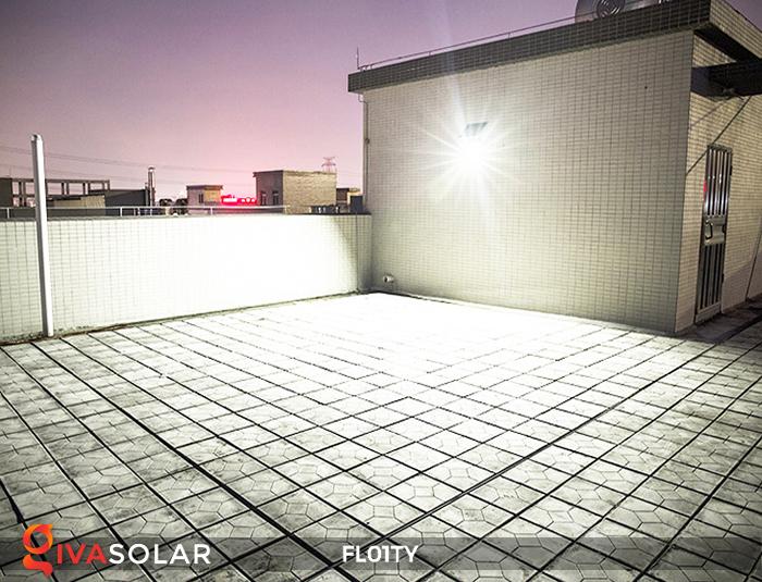 Đèn pha thông minh năng lượng mặt trời FL01TY 14