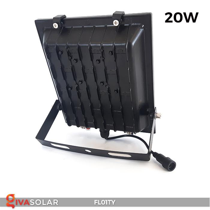 Đèn pha thông minh năng lượng mặt trời FL01TY 22