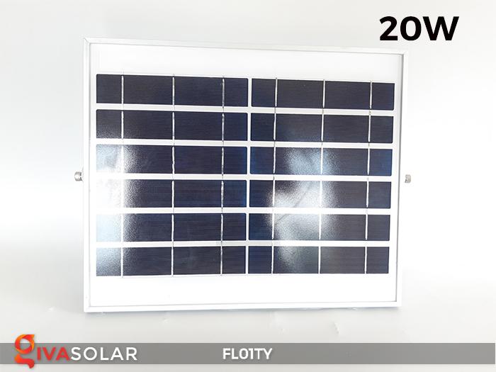 Đèn pha thông minh năng lượng mặt trời FL01TY 23