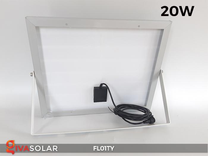 Đèn pha thông minh năng lượng mặt trời FL01TY 24