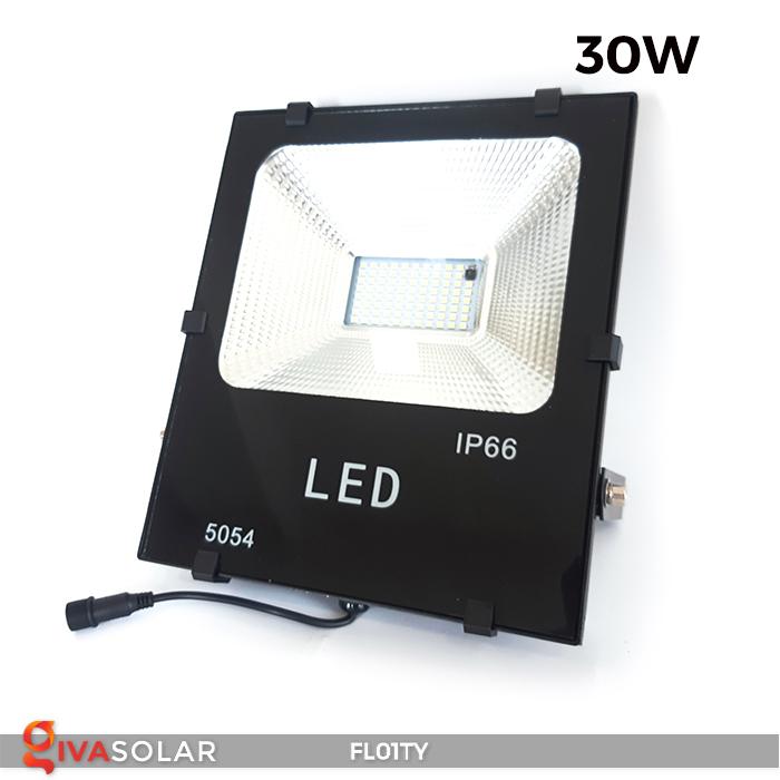 Đèn pha thông minh năng lượng mặt trời FL01TY 26