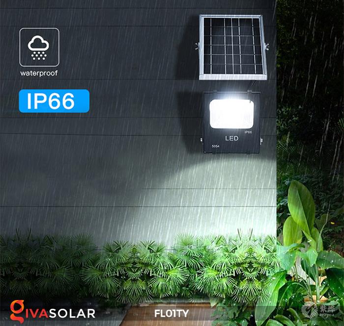 Đèn pha thông minh năng lượng mặt trời FL01TY 5